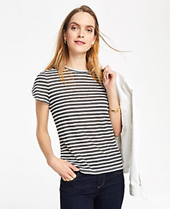 f85969dc6c60e6 T-Shirts, Knit Shirts & Casual Shirts for Women | ANN TAYLOR