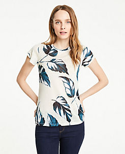7d9a60a5 T-Shirts, Knit Shirts & Casual Shirts for Women | ANN TAYLOR