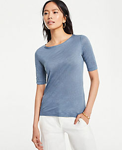 dd1534960 T-Shirts, Knit Shirts & Casual Shirts for Women | ANN TAYLOR