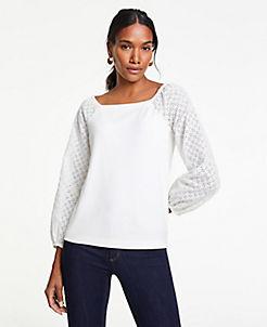 12d7b56a9c493d Sale Tops: Women's Shirts & Blouses on Sale   ANN TAYLOR