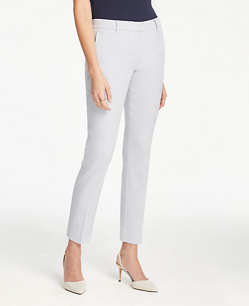 The Petite Ankle Pant In Linen Blend - Curvy Fit