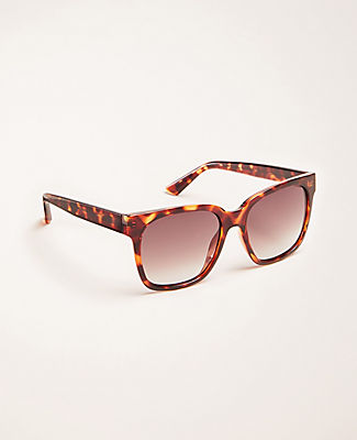 Made in the most covetable shades of the season, our timeless square pair is always sun-ready. 100% UV protection. If you are shipping this item to California, see WARNING Ann Taylor Square Sunglasses