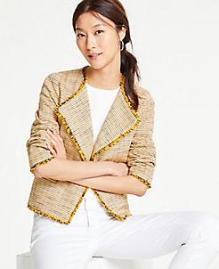 b44d03b61b13 Jackets & Blazers for Women: Tweed, Long, Linen & More | ANN TAYLOR