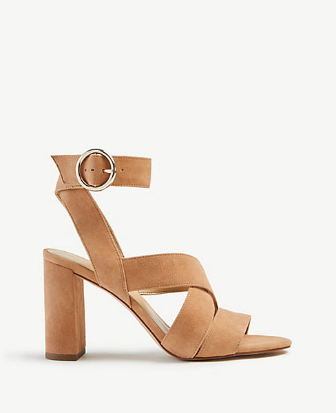 025abe8df Margot Suede Heeled Sandals