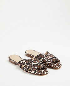 878b1c81a212 Image 2 of 2 - Virginia Leopard Print Flat Sandals