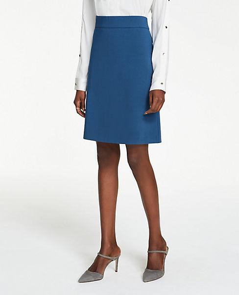Petite Ponte A-Line Skirt