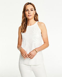 53a1ea30887530 Sleeveless Shirts, Tops, & Camis for Women | ANN TAYLOR