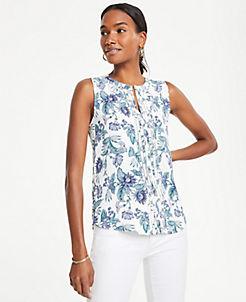 d0509804ac1296 Sleeveless Shirts, Tops, & Camis for Women | ANN TAYLOR