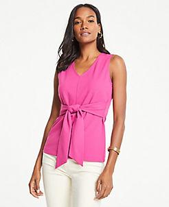 16d252cbd7e2cd Pink Blouses & Tops for Women | ANN TAYLOR