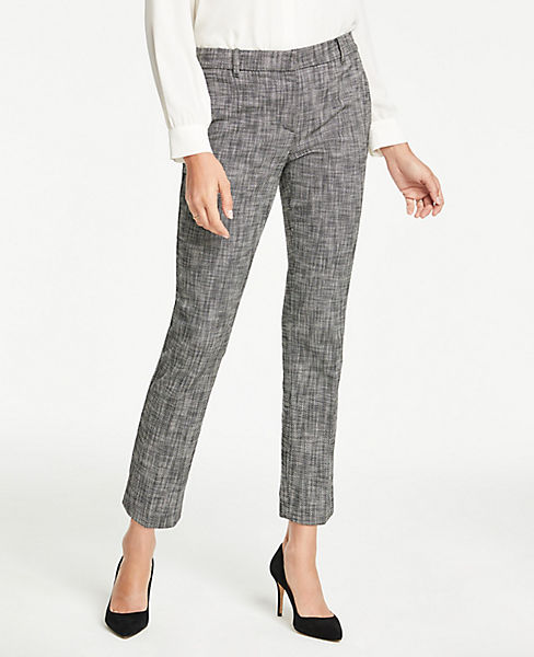 The Petite Ankle Pant in Texture