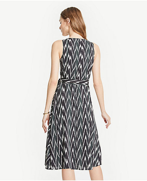 5bd70c81542 ... Tall Ikat Belted Wrap Dress. previous image next image