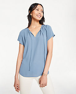 fddbc2471bb36e Blouses & Tops for Women | ANN TAYLOR