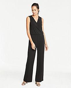 67d3c41b310 Black V Neck Stylish Petite Dresses  Wrap   Sweater Dresses