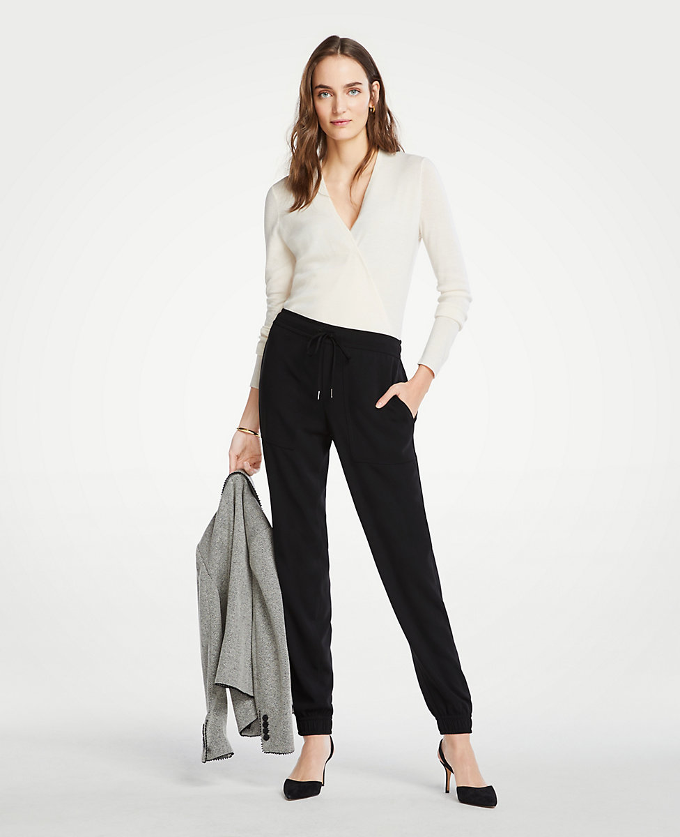 factory authentic best selection of best loved Petite Jogger Pants | Ann Taylor