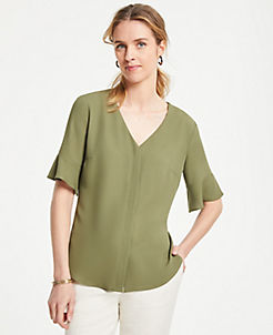 b65ece9817d9d1 Work Blouses & Tops for Women | Ann Taylor