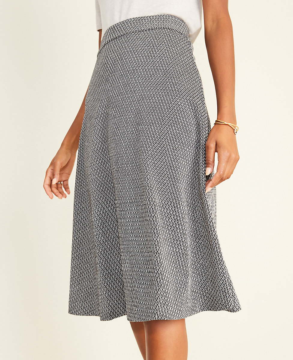 Diamond Jacquard Full Skirt