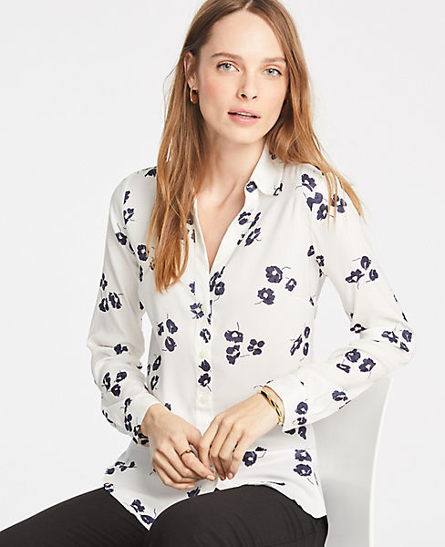 Petite Floral Essential Shirt