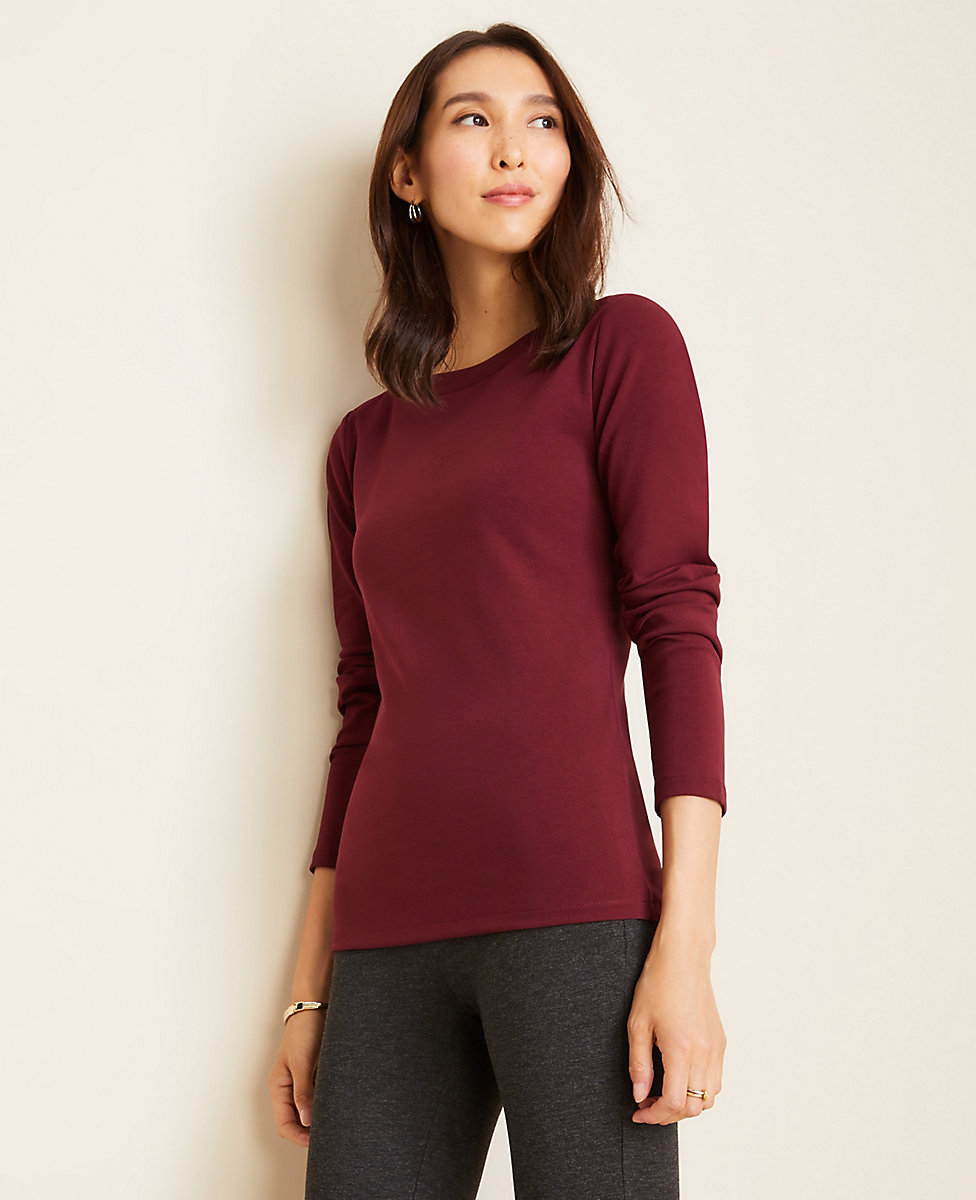Boatneck Luxe Tee