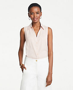 308367f87fa4f4 Tall Tops: Shirts & Blouses for Tall Women | ANN TAYLOR