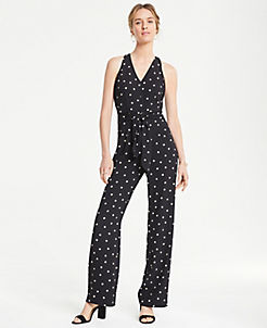 b8fe2fec06 Jumpsuits for Women: Wide Leg, Halter & Wrap | ANN TAYLOR