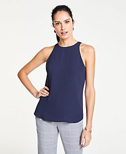 8596f74ab6 Petite Tops & Blouses for Women | ANN TAYLOR