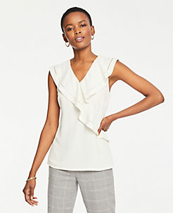 43115921a43f13 Petite Tops & Blouses for Women | ANN TAYLOR