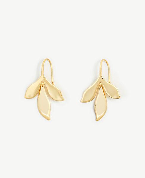 leaf-drop-earrings by ann-taylor