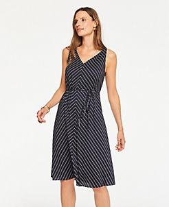 fe7c38037d Stylish Petite Dresses: Wrap & Sweater Dresses   ANN TAYLOR