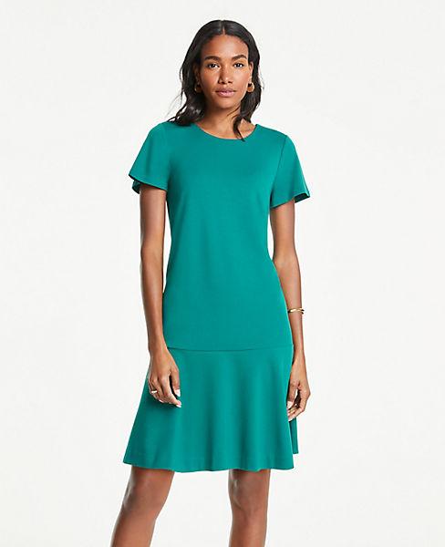 Petite Flounce Shift Dress