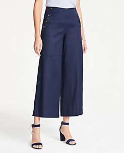 4cac9925f0719 Wide Leg Pants & Flare Pants for Women | ANN TAYLOR