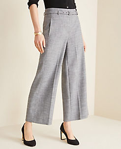 beca7388bc Pants for Women: Linen, Pleated, Gingham & All Styles | ANN TAYLOR