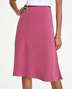 ea7498c63f54 Skirts: Denim, Pleated, Midi, Wrap, Fringe & More | ANN TAYLOR