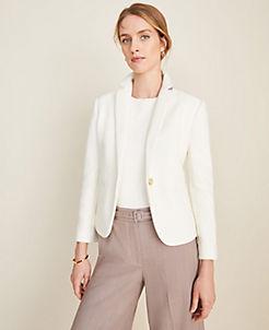 48fac3349 Jackets & Blazers for Women: Tweed, Long, Linen & More | ANN TAYLOR