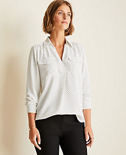 c6722589a55 Blouses & Tops for Women   ANN TAYLOR