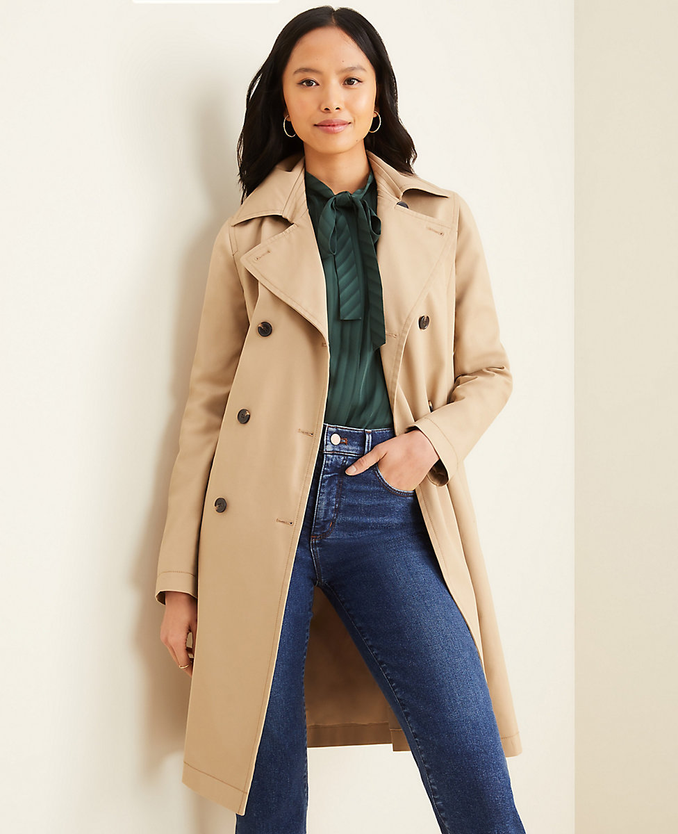 exclusive shoes variety styles of 2019 thoughts on Petite Trench Coat | Ann Taylor