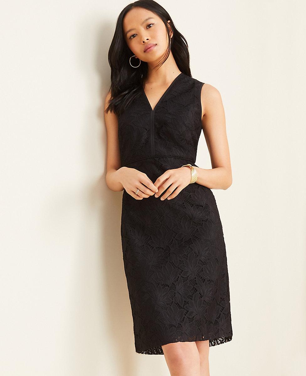 coupon code unique design buy Lace Sheath Dress   Ann Taylor