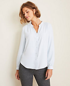 74a8a855d8 Blouses & Tops for Women | ANN TAYLOR