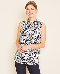 detailed images amazing quality various colors Sleeveless Shirts, Tops, & Camis for Women   ANN TAYLOR