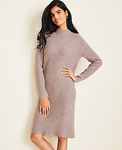 Sweater Dresses For Women Long Sleeve Turtleneck Sweater