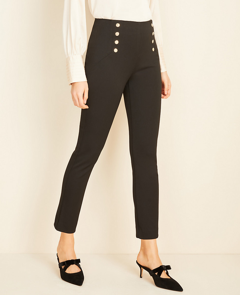 The Petite Sailor Skinny Pant in Bi-Stretch