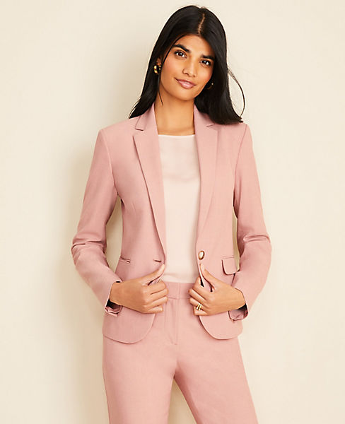 The One-Button Blazer in End On End