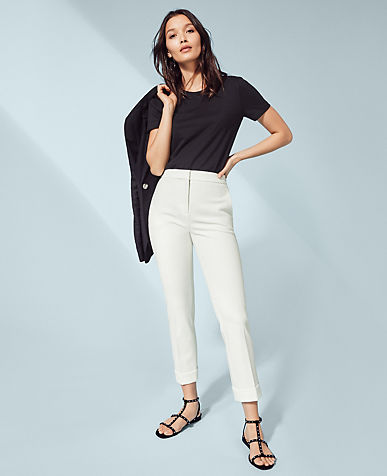 The High Waist Ankle Pant