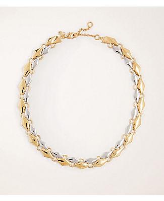 Metallic Geo Necklace