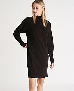 Turtleneck All Dresses: Sleeveless, Short Sleeves, & Long