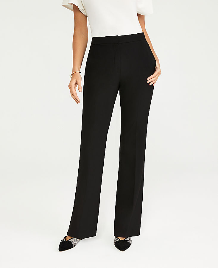 Anntaylor The Petite High Rise Trouser Pant in Seasonless Stretch
