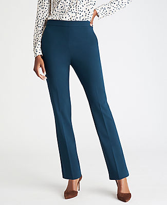 Ann Taylor Straight pants THE PETITE SIDE ZIP STRAIGHT PANT IN BI-STRETCH