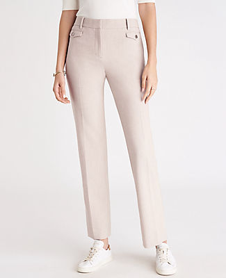 ANN TAYLOR THE PETITE STRAIGHT PANT - CURVY FIT