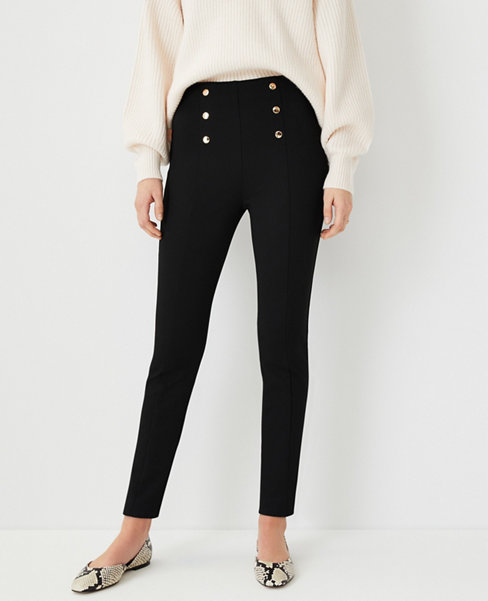 Anntaylor The Petite Sailor Skinny Ankle Pant