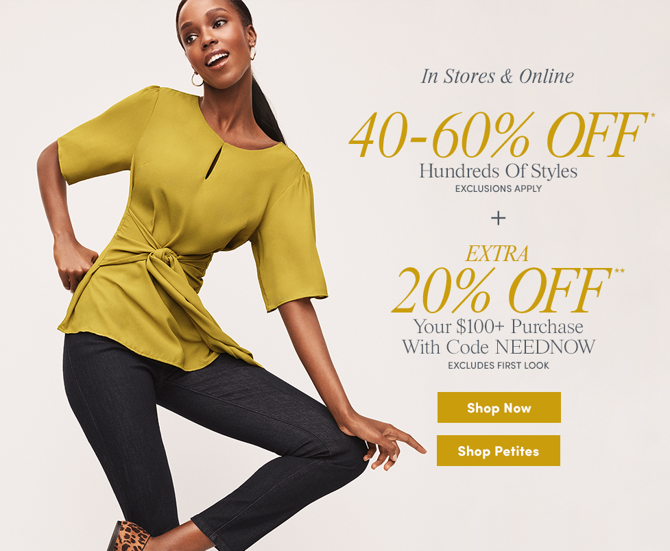 fb1a8bb1a3 Ann Taylor Factory | Affordable Women's Clothing and Accessories