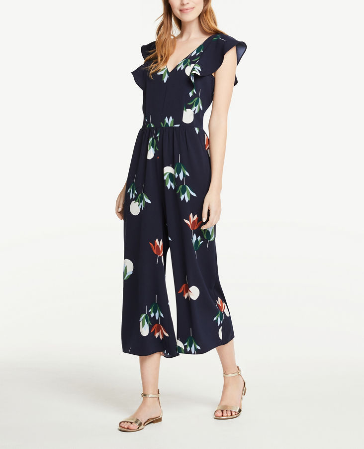 fd4e4a245b74 Floral Flutter Jumpsuit